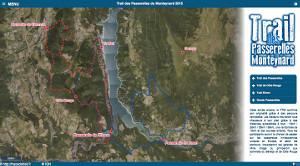 Capture du site Trail des Passerelles du Monteynard 2019