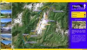 Capture du site Trail de l'Étendard 2017